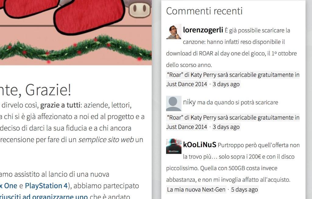 Disqus: Recent Comments per WordPress 4