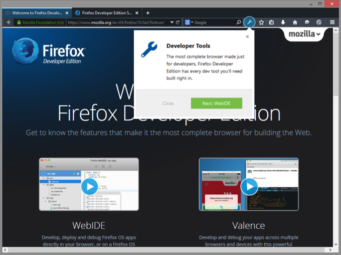FirefoxPortableDeveloper-BlackTheme