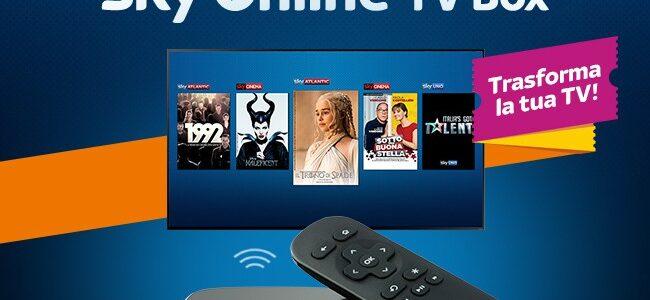 """Sky Online TV Box: """"Sky anche dove Sky non c'è"""""""