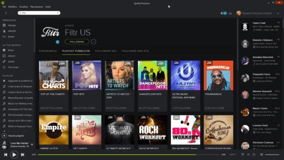 Spotify-FiltrUS