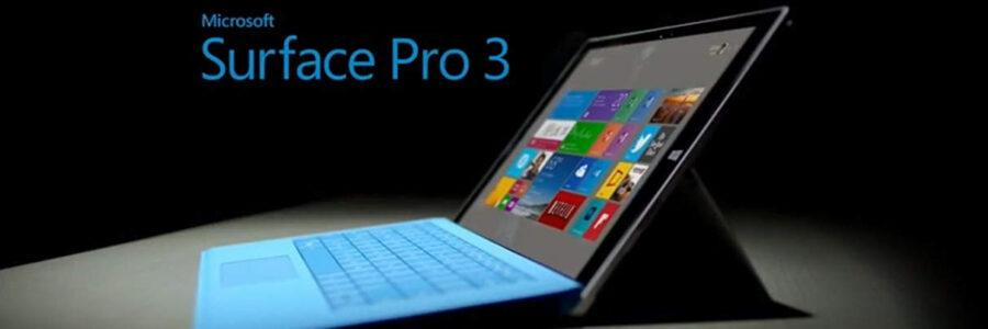 Microsoft Surface Pro 3 1