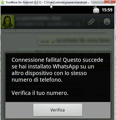 WhatsApp su PC? Perché no! :-) 5
