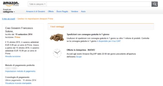 Amazon Prime ti costa troppo? Rinuncia all'abbonamento! 1