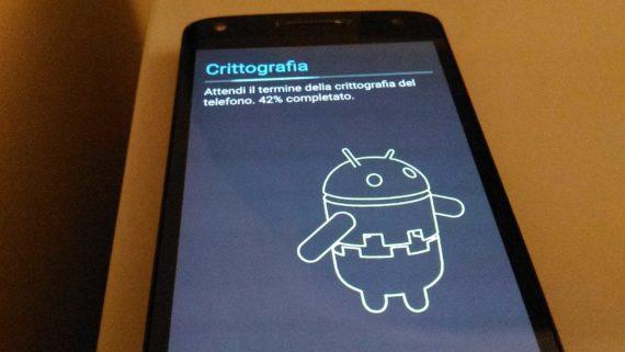 Android: eseguire una formattazione sicura 2