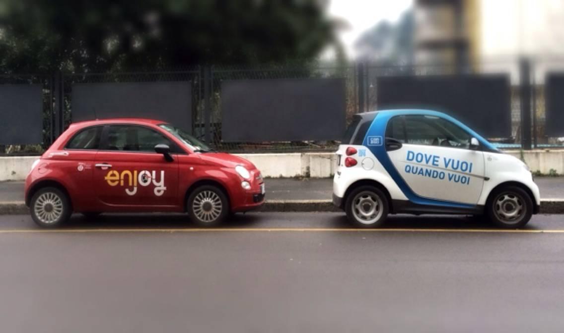 Car Sharing: che combinano car2go ed Enjoy?