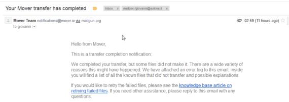 Copy è morto. Migrazione dati in cloud (da Copy a Dropbox) 6