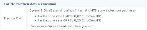 Fastweb: offerta telefonia mobile (voce e dati) 3