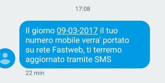 Cronache di una MNP: passaggio a Fastweb (da TIM) 11