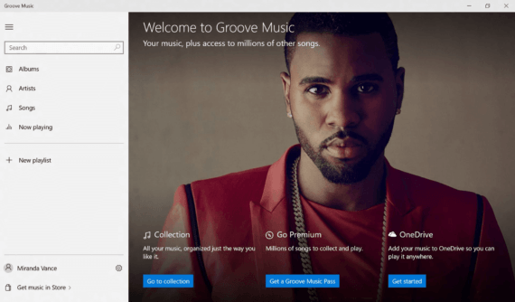 Disinstallare Groove Musica da Windows 10