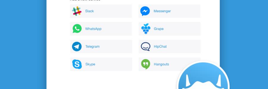Franz: un'app per Facebook, Whatsapp, Telegram, ecc.