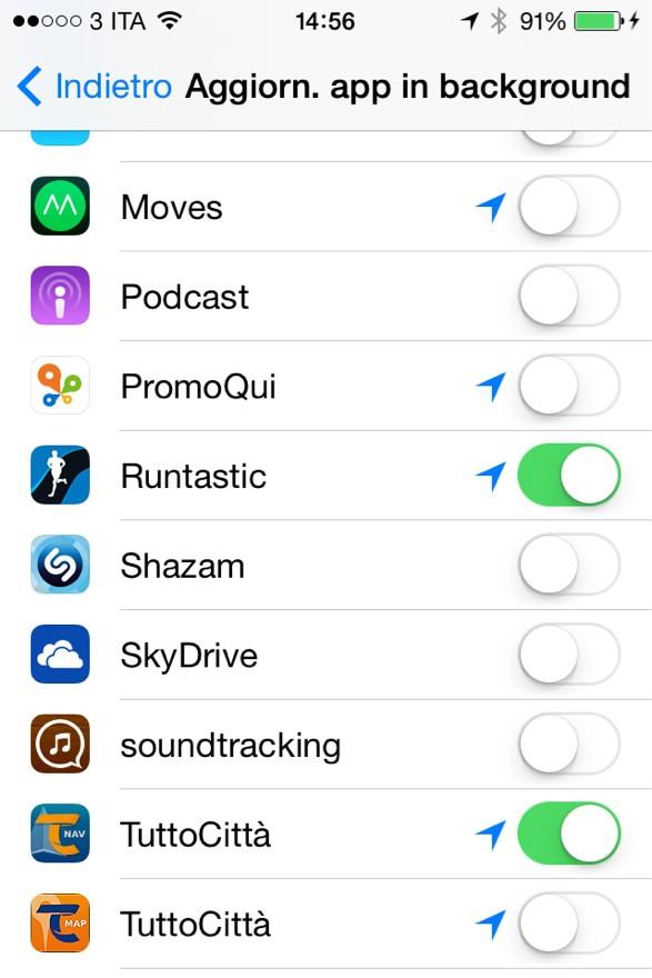 iOS 7.1: nuova vita ai vecchi device? 4