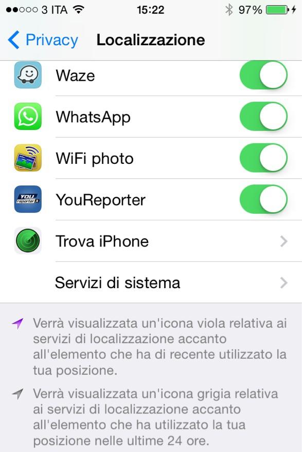 iOS 7.1: nuova vita ai vecchi device? 7