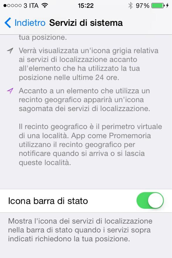 iOS 7.1: nuova vita ai vecchi device? 9