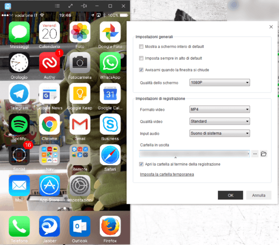 iPhone Screen Recorder di AceThinker 3