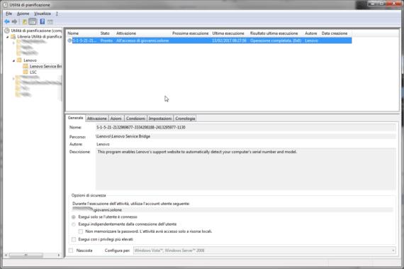 L'errore di Lenovo Service Bridge a ogni avvio di Windows 1