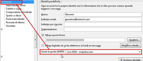 Live.com e Hotmail: POP3 e SMTP liberi! 4