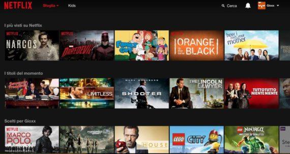 Netflix: è ora di passare alla videoteca americana?