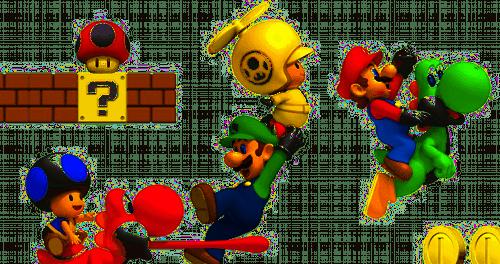 New Super Mario Bros Wii 1