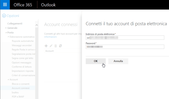 Office 365 e OWA: connettersi a una Shared Mailbox 1