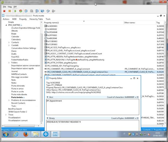 """Outlook 2013: cartella """"Posta inviata"""" nel Calendario? La soluzione. 4"""