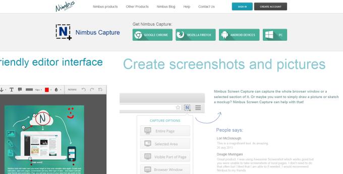 Nimbus Screenshot & Screen Video Recorder - Chrome Web Store