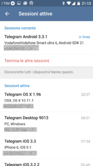 Telegram: 2-step verification e opzioni di sicurezza 5