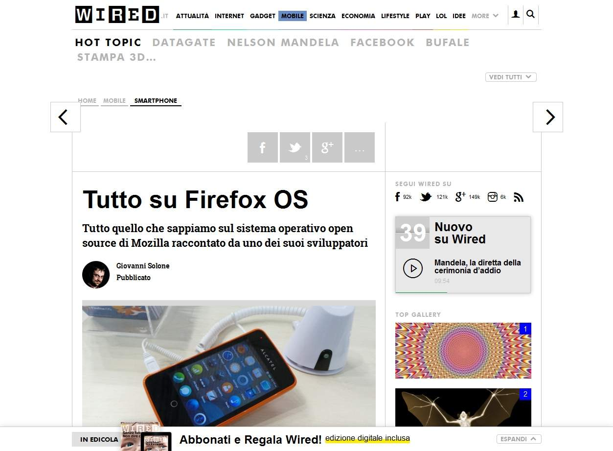 Vi dico la mia su Firefox OS (Uncut Edition) 1