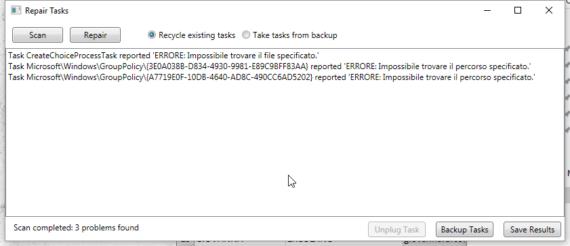 Windows 10 e Task Scheduler danneggiato: come risolvere