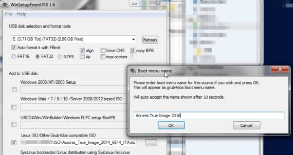 WinSetupFromUSB: installare un sistema operativo da chiave 1