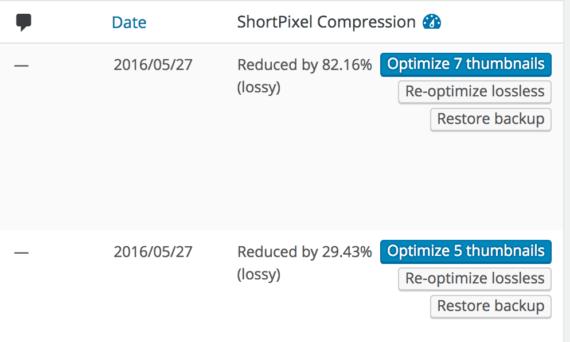 WordPress: ShortPixel Image Optimizer 10