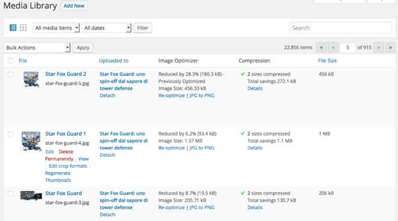 WordPress: suggerimenti sulla gestione delle immagini 4